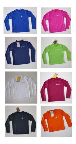 Kit 10 Camisas  Blusas Infantil Proteção Uv Fator 50 Atacado