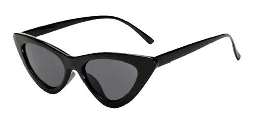 Óculos De Sol Retrô Gatinho Proteção Uv
