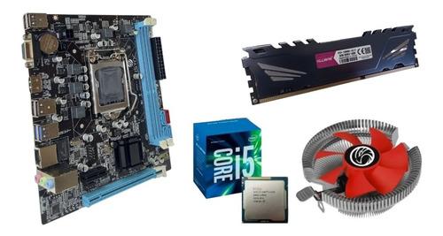 Kit Processador I5 3470 + Placa Mãe 1155 + 8gb Memória Ddr3