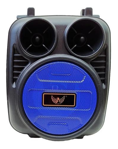 Mini Caixa De Som Portátil Com Bluetooth Rádio Fm E Pendrive