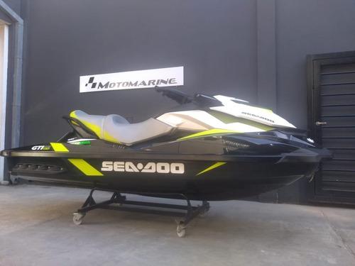 Moto De Agua Sea Doo Gti Se 130 2017-92 Hs- Motomarine