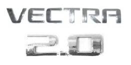 Kit Emblemas Vectra 2.0 A Partir De 2006 + Brinde Original