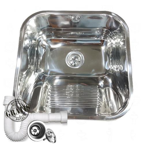 Tanque Inox Tecnocuba 40x40 22 Litros + Sifao