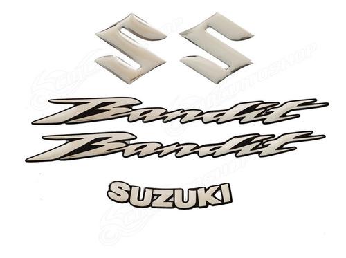 Adesivo Faixa Relevo 3d Sobrepor Moto Suzuki Bandit 650 S N