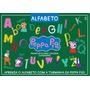Peppa Pig Prancheta Para Colorir: Alfabeto Supersérie