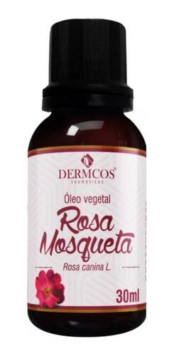 Óleo Vegetal De Rosa Mosqueta Clareador Manchas 30ml Dermcos