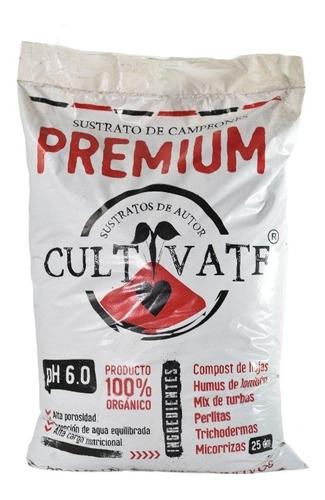 Sustrato Premium Cultivate 25l