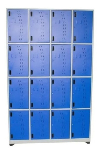 Locker Metalico De 16 Puestos
