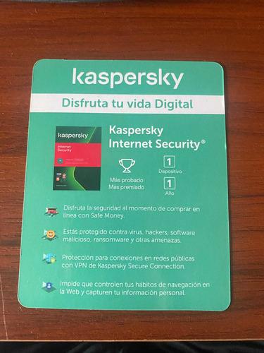 Licencia Kaspersky Internet Security Legitima 1 Año 1 Equipo