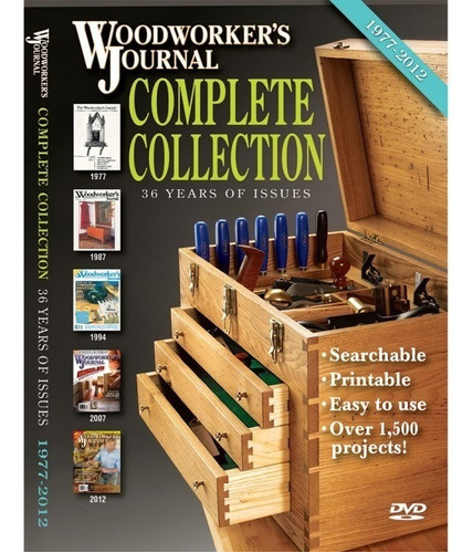 Revistas De Carpinteria Madera Woodworker's Journal