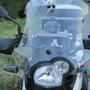 Estrutura Com Suporte Celular Navegador Moto Bmw G650gs