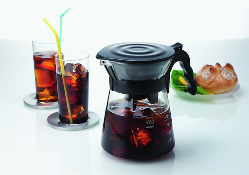 Kit Coar Café Hario V60 Drip In + Suporte V60-2  Hario - Barista Cafeteria Cafe Gelado