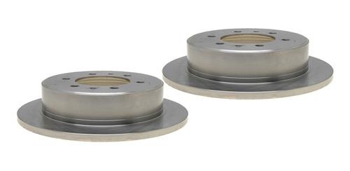2 Discos De Freno Traseros Hummer H3t 09-10 Raybestos