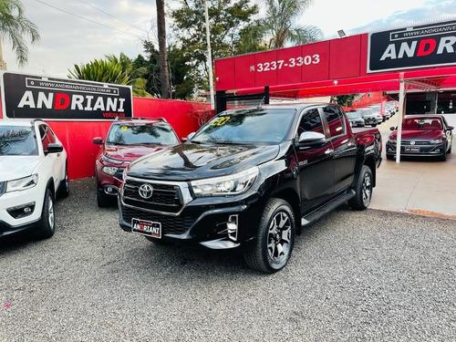 Toyota Hilux Srx 2.8 Preto 2020