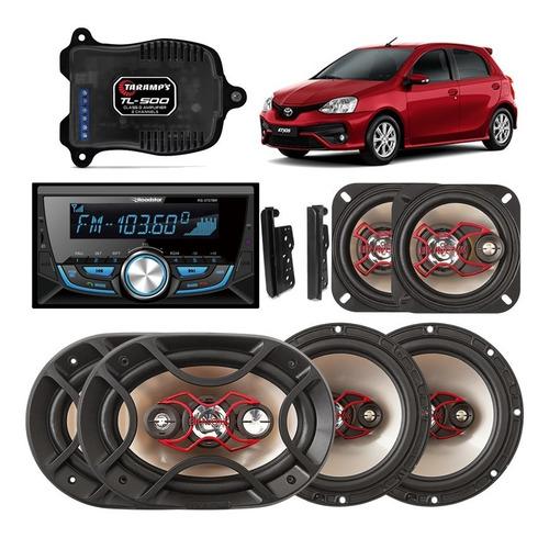 Radio Mp3 2 Din Toyota Etios Roadstar Bluetooth Fm Usb