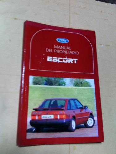 Compilado Manual De Usuario Y De Taller Ford Escort 92