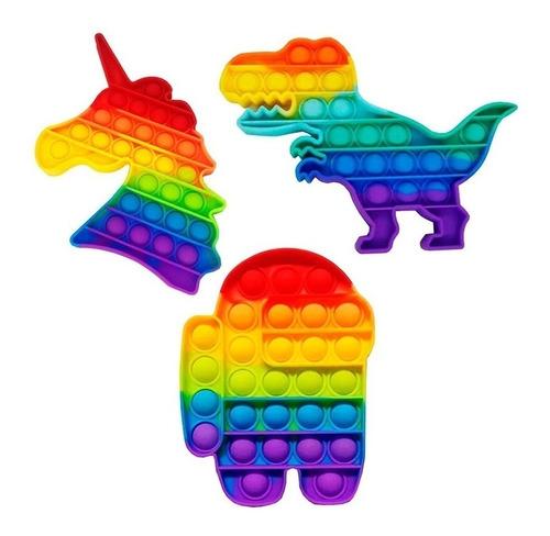 Brinquedo Pop It Fidget Bolinha Alivio Anti Estress Autismo