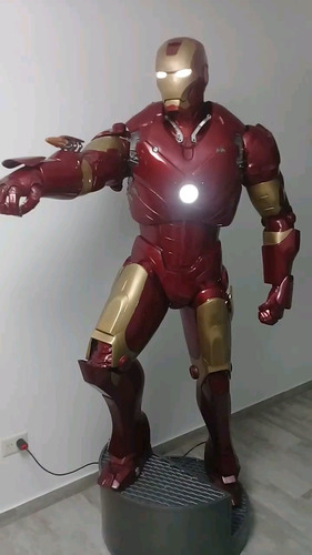 Iron Man Mark3  Escala 1/1  Resina Y Fibra