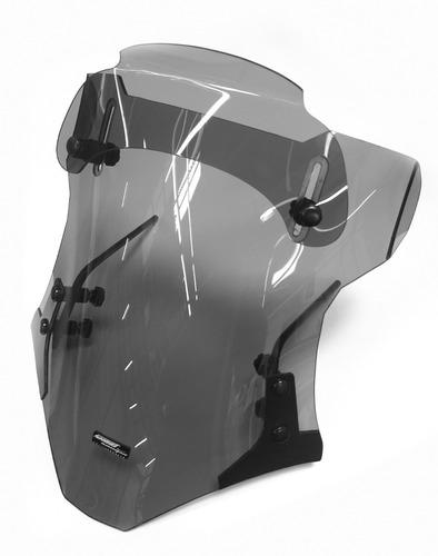 Bolha Universal Sport Defletor Regulável Policarbonato Fumê