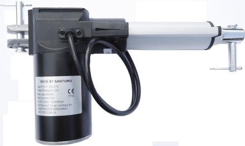 Atuador Linear 200mm - Pistão Elétrico