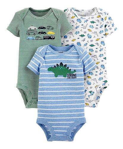 Conjunto Kit Body De 0 A 3 Anos Carter's E Up Baby