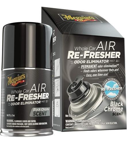 Meguiar´s Air Refresher Eliminador De Olor Auto Black Chrome
