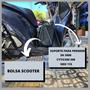 Mala Alforge Central Scooter Viagem Moto Honda Sh 300i 2019