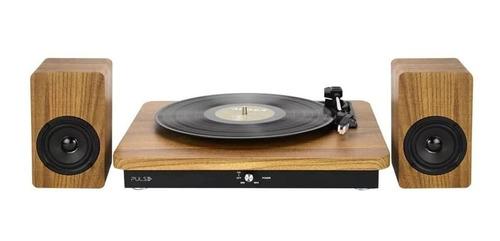 Retro Pulse Vitrola Multilaser Micro System Sinatra 100w