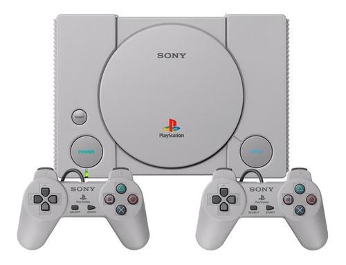 Sony Playstation Classic 16gb Cor  Cinza