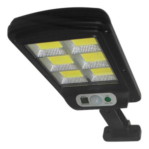 Mini Solar Luminária Poste Rua Led 40w C/sensor Luz Frio