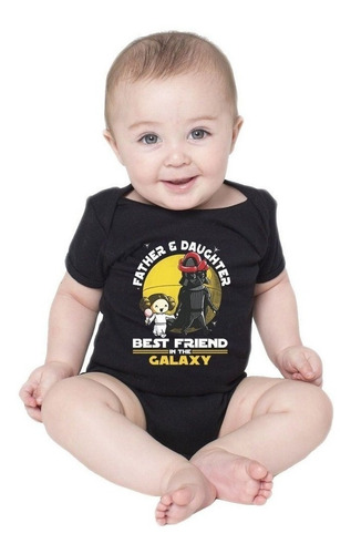 Body Bebê Father E Daughter Friends Pai E Filha Darth Vader