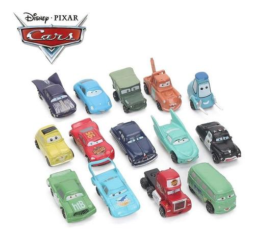 Mc Queen Carro Mc Quen Car Disney Coleção De 14 Pcs Atacado