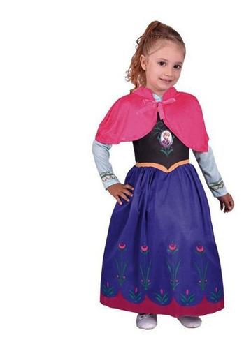 Disfraz Frozen Anna C Luz Talle 1  Disney New Toys 5710