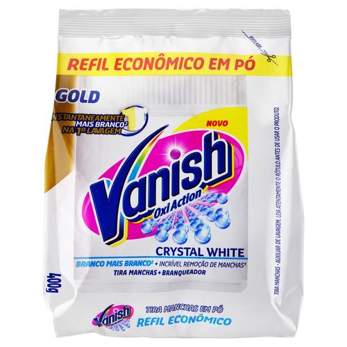 Tira Manchas Vanish Oxi Action Crystal White Branqueador Em Pó 400g