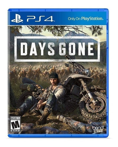 Days Gone  Standard Edition Físico Ps4 Sony