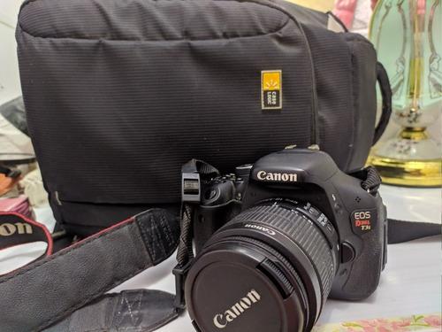 Câmera Canon T3i + 18-55mm Apenas 17.210 Clicks + Bolsa