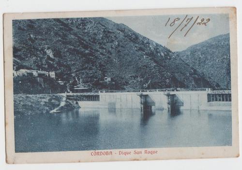 Cordoba Antigua Postal Dique San Roque