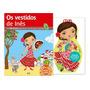 Os Vestidos De Inês E Desenhe Sua Boneca Espanhola adesivos