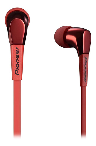 Auriculares Pioneer Se-cl722t Red