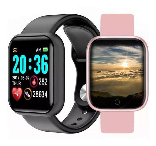 Relógio Smartwatch Nova Versão Foto Na Tela Redes Sociais