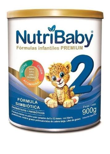 Leche De Fórmula En Polvo Ethical Pharma Nutribaby 2 En Lata De 900g