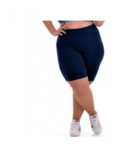 Bermuda Legging Fitness Ciclista Plus Size Short
