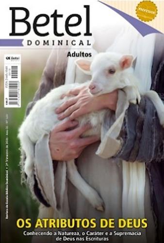 Revistas Kit 2º Trim. Professor Adulto Editora Betel