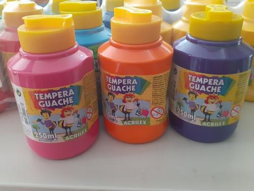 Tempera Acrilex De 250 MlDel Color Que Prefieras