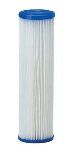 Refil Filtro Agua 9 3/4 Plissado Lavável Reutilizável 20micr