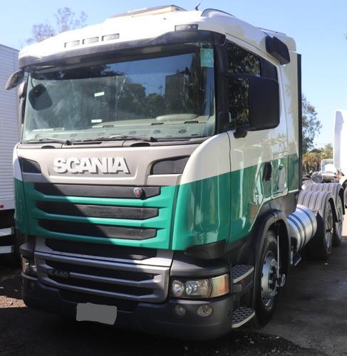 Scania R440 6x4 Ano 2014