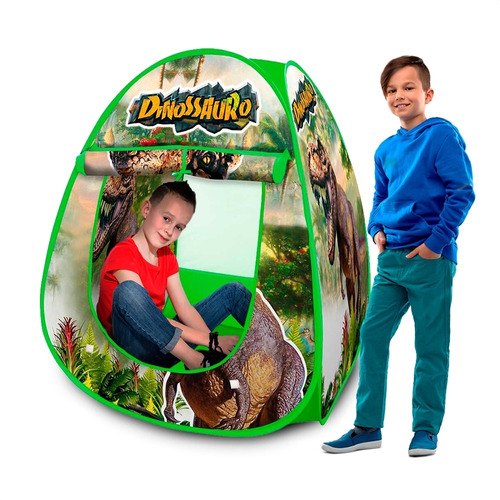 Toca Barraca Cabana Infantil Dobrável C/ Bag [escolha A Cor]