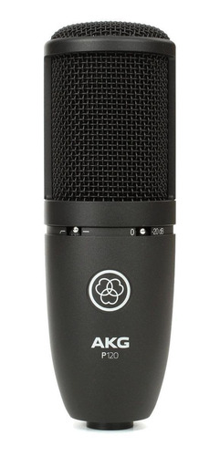 Micrófono Akg P120 Condensador Cardioide Negro
