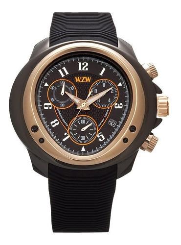 Relógio De Pulso Wzw Clássico  7203 Original