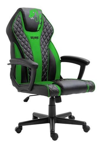 Cadeira Gamer Snake Naja Verde - 411
